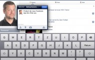 Facebook fürs iPad (Screenshot: derappelt.de)
