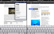 App-Tipp: Office² (Word, Excel, Powerpoint) für iPhone und iPad (Screenshot: Apple iTunes)