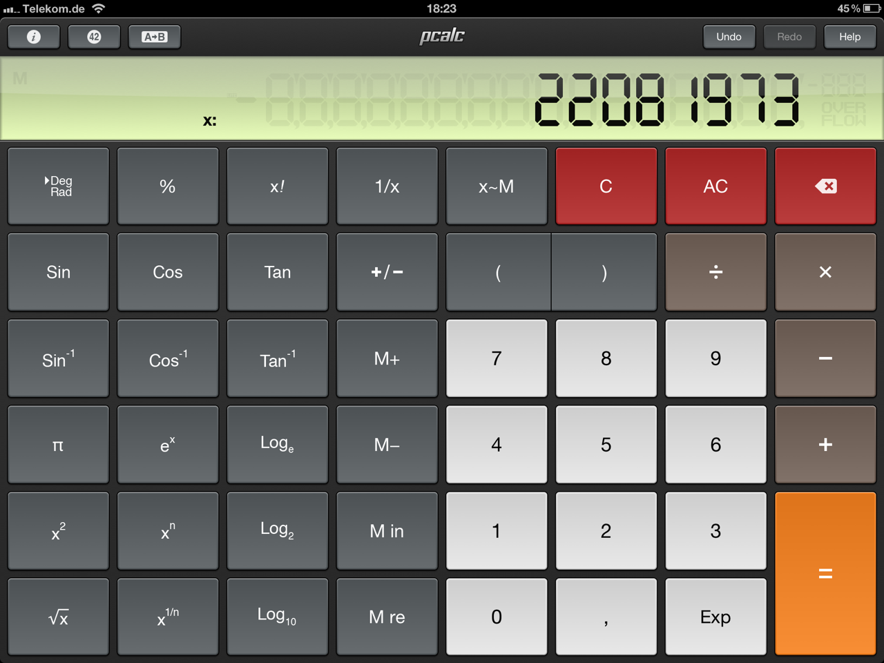 PCalc Calculator (Bild: PCalc Calculator)