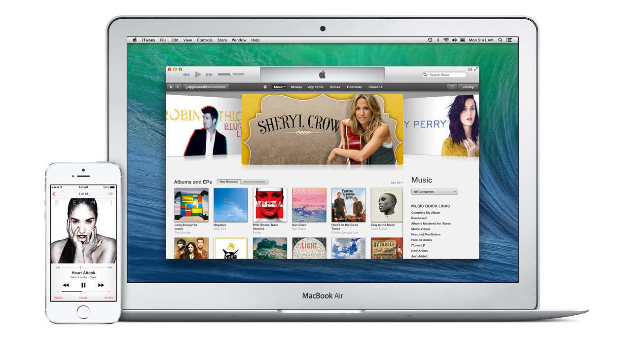 iTunes (Bild: Apple)