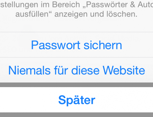 Video-Tutorial: iPhone/iPad-Tipp: Safari – Passwörter speichern